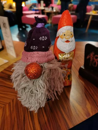 świąteczny skrzat